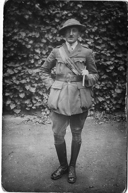 A Senior British Officer, Machine Gun Corps (MGC) Paschendale, December 1917.