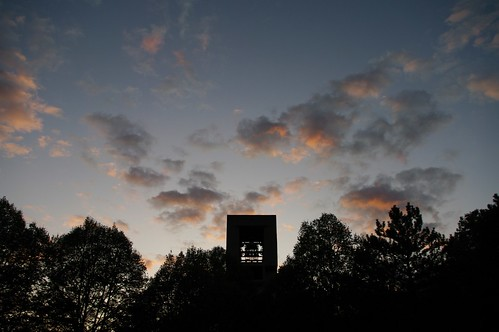 sunset sky clouds university pentax cloudy indiana bloomington iu k20d