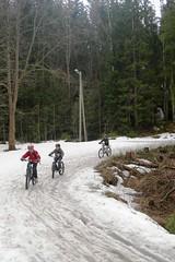 6_Dragehode på sykeltur_100421_vi opplevde både sol, hagl og snø_foto_MarianneTilden