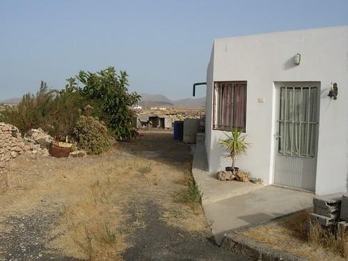 Casa de Juan Ramón Rodríguez, el poeta de Tiscamanita (Tuineje, Fuerteventura)
