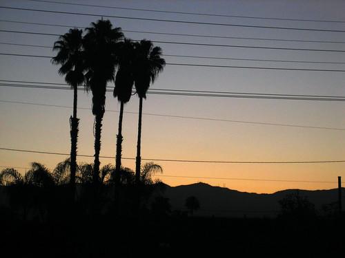california sunrise losangeles northhollywood