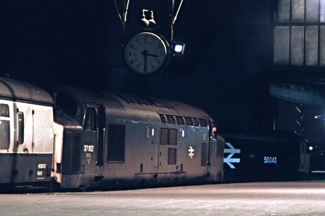 Class 37 37182 BTM 2/12/83