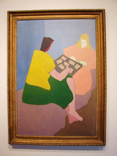 """The Card Players"" by Milton Avery 