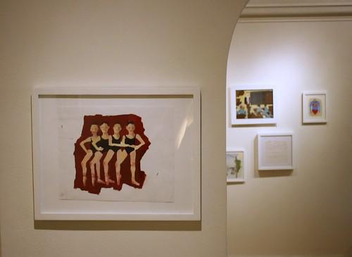 Ottinger Install Shot, Four Ballerinas
