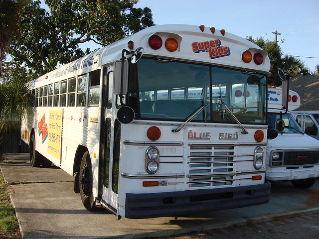 Vegetable oil School Bus