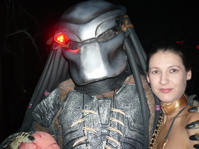 predator and princess leia