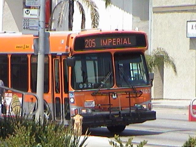 Mta Metro Route 205 Imperial To Wilmington Station Coach