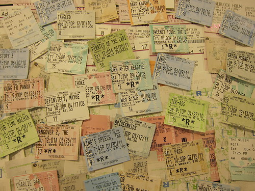 5 years of movie tickets | by fligtar