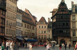 Strasbourg, Alsace, France, 1987