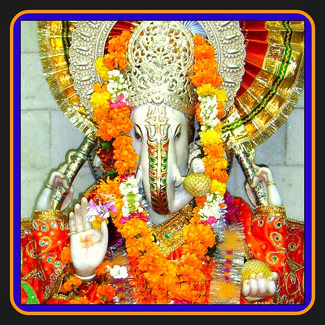 Ganesh Chaturthi - holy ceremony in India