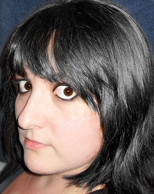 (271/365) Black hair?