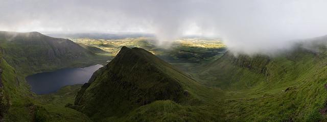 The Comeragh Mountains - Coumshingaun Panorama