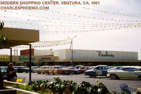 MODERN SHOPPING CENTER, 1961 - Ventura, California