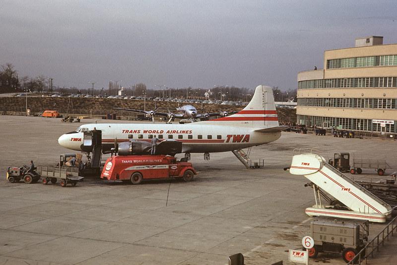 TWA Martin 404 at Pittsburgh, November 1952