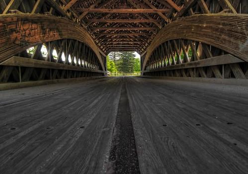wood bridge ohio geotagged nikon coveredbridge hdr d300 photomatixpro ashtabulacountyohio photoshopelements7 tokinaatz124prodxii