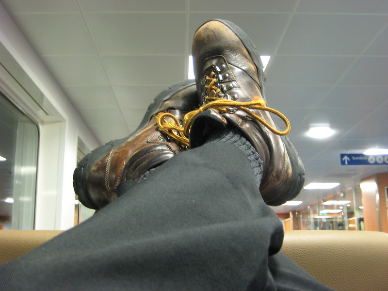 Boots On Das Ferryboot
