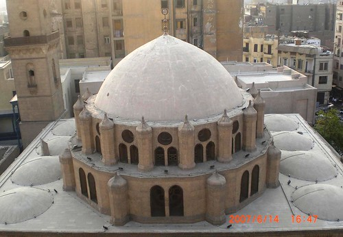 Cairo - Dome of Abu Dahab Mosque | by zishsheikh