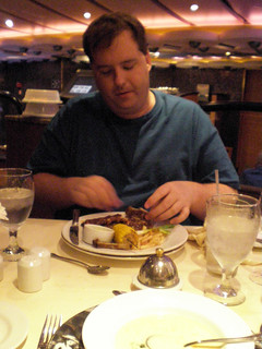 Mike and His Fave - The Baby Back Ribs (Carnival Splendor) | by Miss Shari