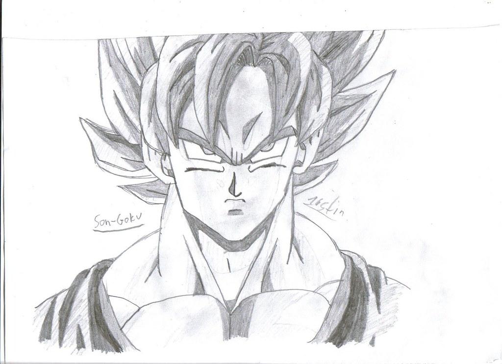 Son Goku Saiyajin Kunde Super Saiyajin 1 Justinv2 Flickr