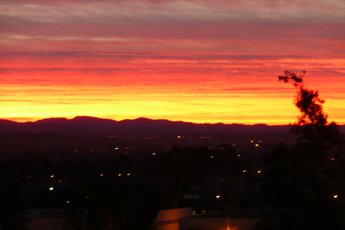 california red sky orange mountains yellow clouds sunrise cloudy hills tustin bloodred bloodredsky