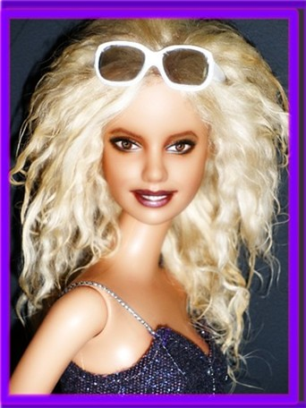 Britney Spears Repaint Ooak Doll Britney Spears Repaint O Flickr