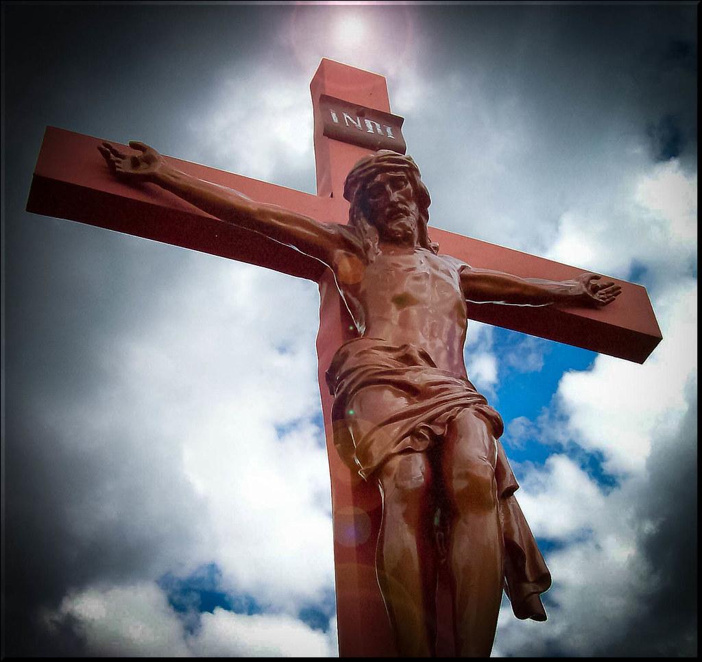 Jesus Christ On The Cross Jesus Christ Died On The Cross T Flickr