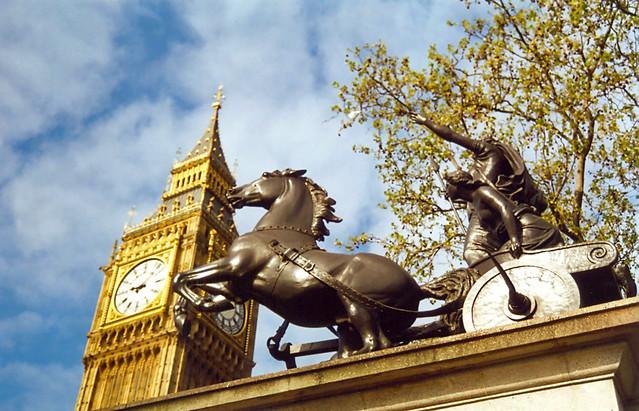 Boadicea e o Big Ben