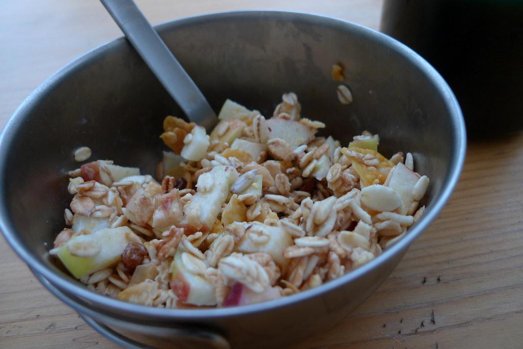 Real Swiss bircher muesli! | Post an overnight soak in ...