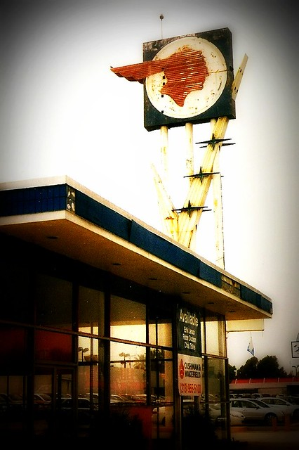 VINTAGE PONTIAC SIGN, VALLEY BLVD., EL MONTE, CA