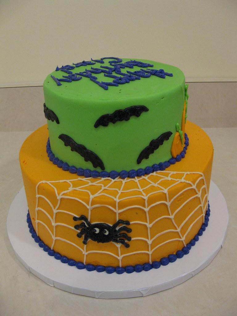 Remarkable Halloween Birthday Cake Meg Flickr Funny Birthday Cards Online Alyptdamsfinfo
