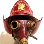 Steampunk mask | Fire master | rescan