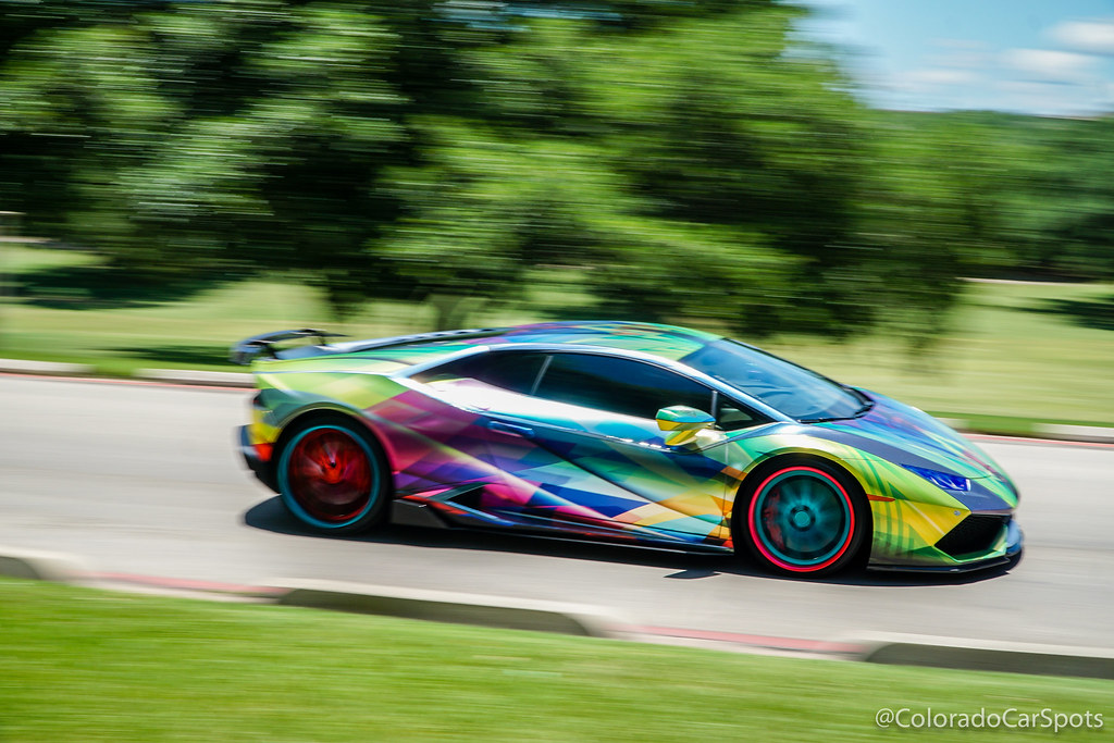 Rainbow Huracan Pan Photos From The Goldrush Rally Stop In Flickr