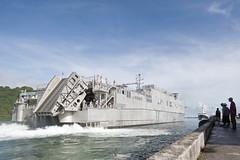 USNS Millinocket (JHSV 3) arrives in Kolonia, Pohnpei, June 21.  (U.S. Navy/Lt. Laura Price)