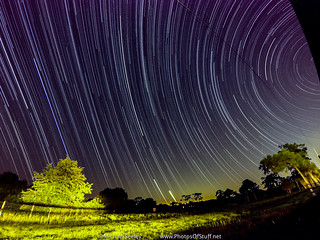 Star Trails + Spot The Station from Melbourne, FL - June 17, 2015 | by Michael Seeley