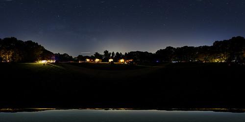 camping panorama connecticut 360 panoramic nightsky equirectangular panosphere