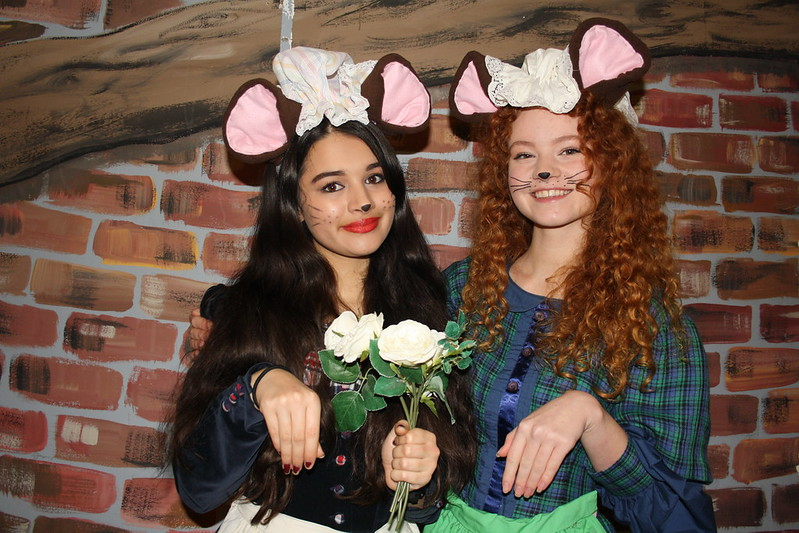 Mouse Zoe and Eleanor