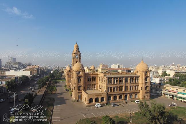 Karachi Aerial Old town | KMC Building, M A Jinnah Road, Kar