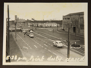Rush hour in mid-century Christchurch – Wednesday 1st November 1961