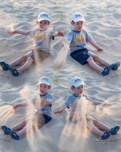 manistee mi usa funinsun sand playing beach