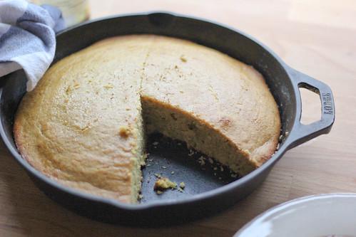 Brown Butter Cornbread | Southern Soufflé | by Erika-SouthernSouffle