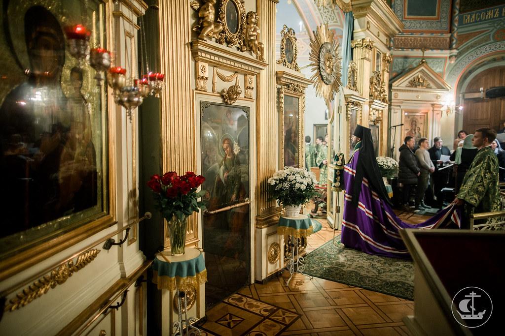5 февраля 2017, Всенощное бдение на кануне дня празднования блаженной Ксении Петербургской / 5 February 2017, Vigil on the eve of the celebration of Xenia of Saint Petersburg