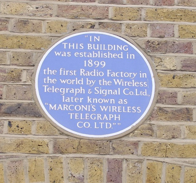 Marconi Wireless Telegraph Co, Hall St, 2009