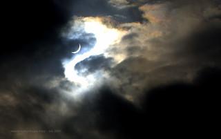 Curvy - Solar Eclipse in Dhaka 2009