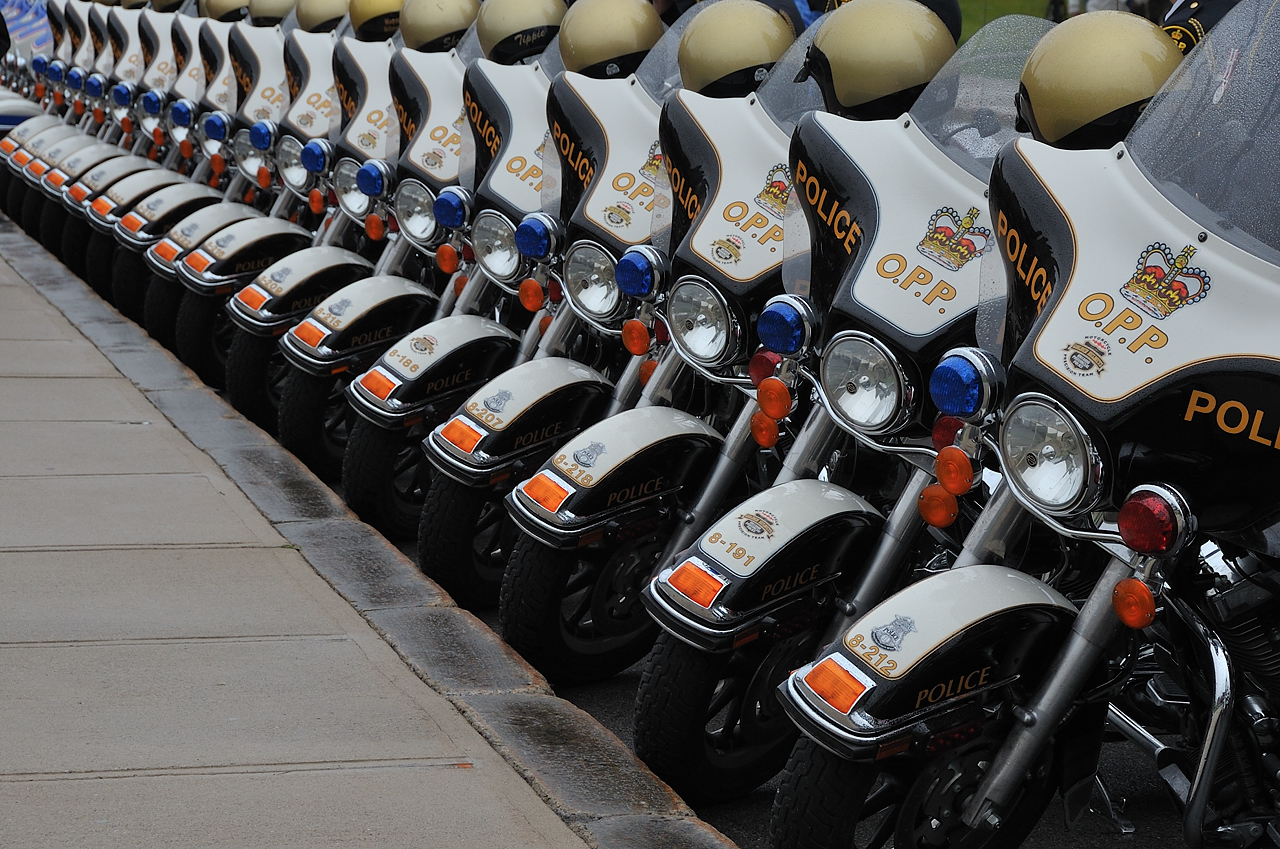 Ontario Provincial Police Motorcycles Part 2 by Roy Mac