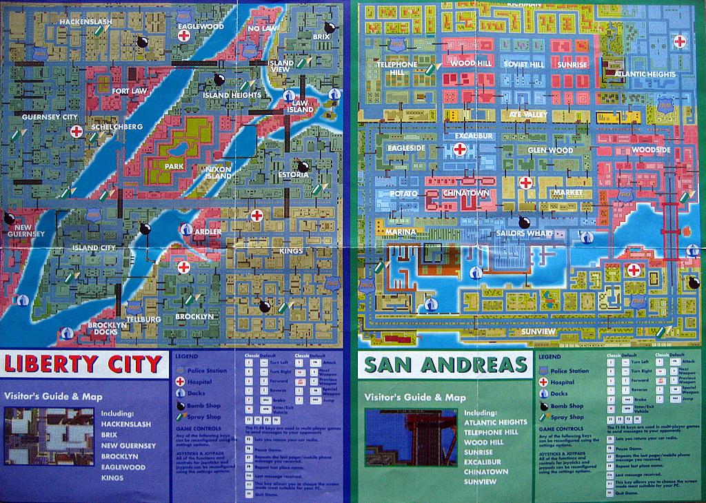 GTA 1 Map | igorg003 | Flickr