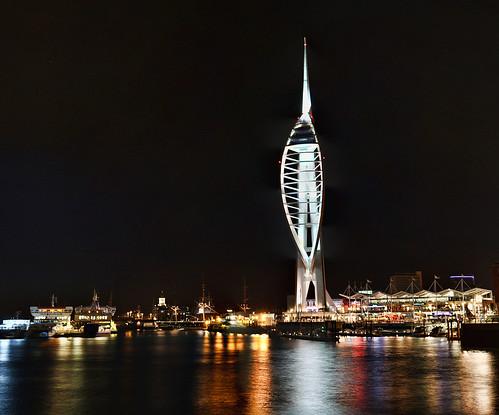 Spinnaker Tower Panorama   by Hexagoneye Photography