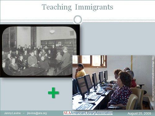libraries teaching immigrants | by The Shifted Librarian