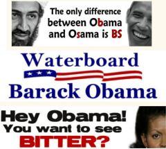 Contre Obama «le rouge»