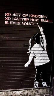Dublin Street Art And Graffiti - Be Kind | by infomatique