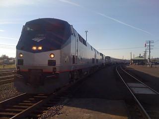 Our train at Klamath Falls